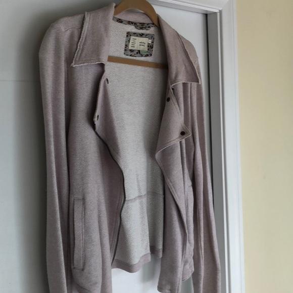 Anthropologie Jackets & Blazers - Anthropologie pale lavender zip jacket